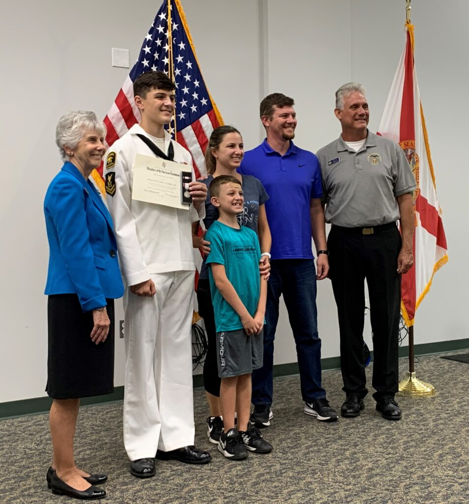 This image has an empty alt attribute; its file name is 6-5-Sea-Cadet-Ulmer-family-954x1024.jpg